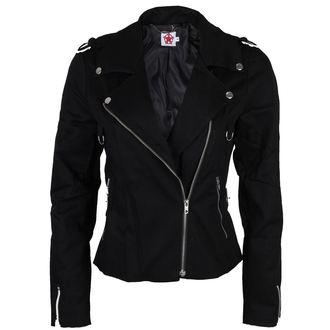 giacca primaverile / autunnale donna - Biker - BLACK PISTOL, BLACK PISTOL