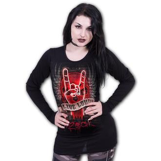 t-shirt donna - LIVE LOUD - SPIRAL, SPIRAL