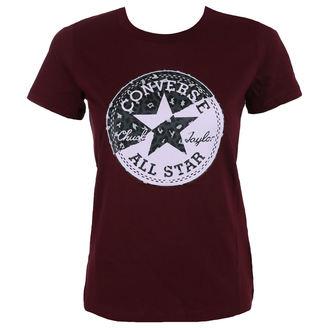 t-shirt street donna - Spliced Leopard - CONVERSE, CONVERSE