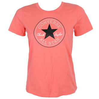 t-shirt street donna - CORE SOLID CHUCK PATCH - CONVERSE, CONVERSE