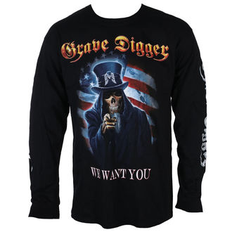 t-shirt metal uomo Grave Digger - UNCLE SAM 2016 - Just Say Rock, Just Say Rock, Grave Digger