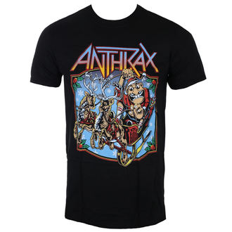 t-shirt metal uomo Anthrax - Christmas Is Coming - ROCK OFF, ROCK OFF, Anthrax