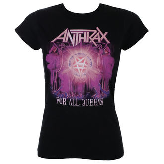 t-shirt metal donna Anthrax - For All Queens - ROCK OFF, ROCK OFF, Anthrax