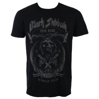 t-shirt metal uomo Black Sabbath - The End Mushroom Cloud - ROCK OFF, ROCK OFF, Black Sabbath