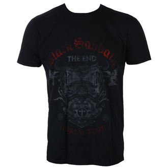 t-shirt metal uomo Black Sabbath - The End Reading Skull - ROCK OFF, ROCK OFF, Black Sabbath