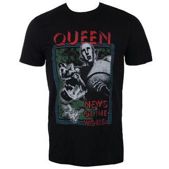 t-shirt metal uomo Queen - News of the World - ROCK OFF, ROCK OFF, Queen