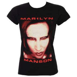 t-shirt metal donna Marilyn Manson - Bigger Than Satan - ROCK OFF, ROCK OFF, Marilyn Manson