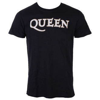 t-shirt metal uomo Queen - Logo & Crest - ROCK OFF, ROCK OFF, Queen