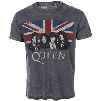 t-shirt metal uomo Queen - Vintage Union Jack - ROCK OFF, ROCK OFF, Queen
