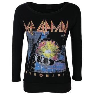 t-shirt metal donna Def Leppard - VINTAGE PYROMANIA - LIVE NATION, LIVE NATION, Def Leppard