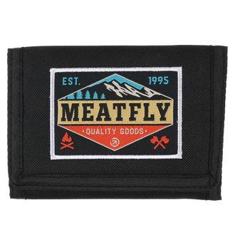 Portafoglio MEATFLY - Gimp - Nero, Turchese, MEATFLY