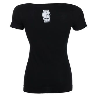 t-shirt hardcore donna - Insatiable Frenzy Scoop - Akumu Ink, Akumu Ink