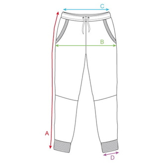 pantaloni (da palestra) HORSEFEATHERS - KASSIUS - NERO SPOTS