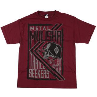 t-shirt street uomo - THRILL - METAL MULISHA - BUR_FA7518026.01