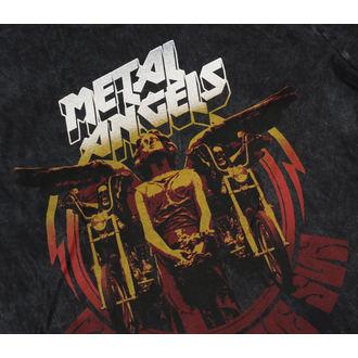 t-shirt street donna - ANGELS WASHED - METAL MULISHA