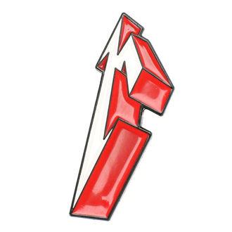 spilla Metallica - 3D M, Metallica