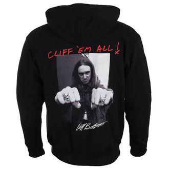 felpa con capuccio uomo Metallica - Cliff Burton - NNM, NNM, Metallica