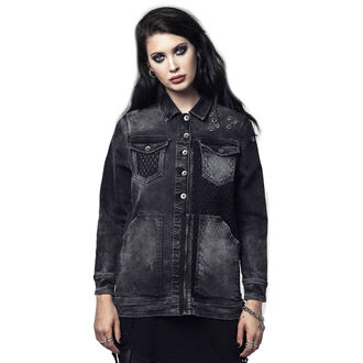 giacca primaverile / autunnale donna - SOUTH MESH - DISTURBIA, DISTURBIA