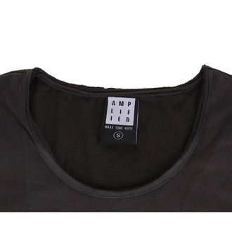 t-shirt metal donna - CHARCOAL - AMPLIFIED, AMPLIFIED