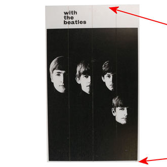 Immagine su legno Beatles - A Hard Days Night - PYRAMID POSTERS - DANNEGGIATO, PYRAMID POSTERS, Beatles