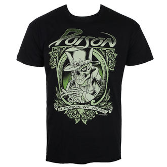 t-shirt metal uomo Poison - Black - HYBRIS, HYBRIS, Poison