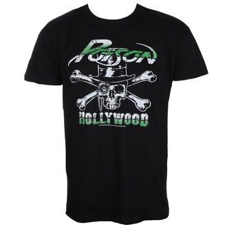 t-shirt metal uomo Poison - Hollywood - HYBRIS, HYBRIS, Poison