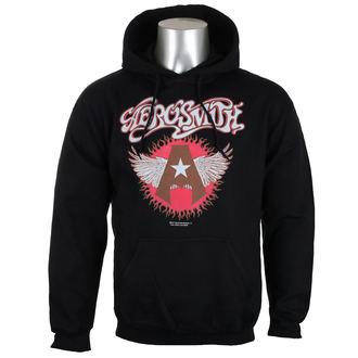 felpa con capuccio uomo Aerosmith - Flying A Logo - HYBRIS, HYBRIS, Aerosmith