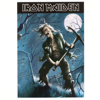 Cartolina Iron Maiden - ROCK OFF, ROCK OFF, Iron Maiden