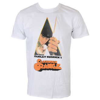 t-shirt film uomo Clockwork Orange - KNIFE WHITE - LIVE NATION, LIVE NATION