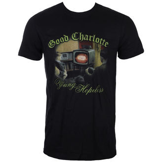 t-shirt metal uomo Good Charlotte - YOUNG AND HOPELESS - LIVE NATION, LIVE NATION, Good Charlotte