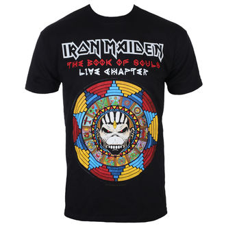 t-shirt metal uomo Iron Maiden - BOS Live - ROCK OFF, ROCK OFF, Iron Maiden