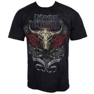 t-shirt metal uomo Lynyrd Skynyrd - The Last Rebel - LIQUID BLUE, LIQUID BLUE, Lynyrd Skynyrd