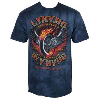 t-shirt metal uomo Lynyrd Skynyrd - Big Wheels - LIQUID BLUE, LIQUID BLUE, Lynyrd Skynyrd