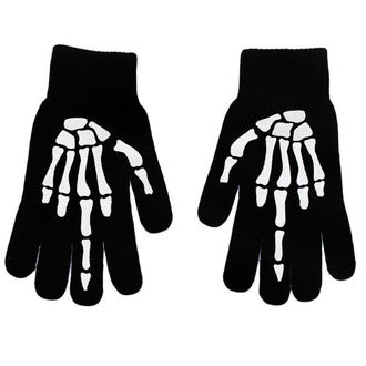 Guanti TOO FAST - UP YOURS SKELETON HAND MIDDLE, TOO FAST