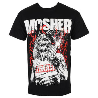 t-shirt metal uomo - Pete Flamin' Anger - MOSHER, MOSHER