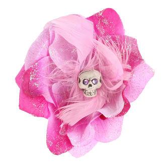 Fermacapelli Cranio - viola / Rosa