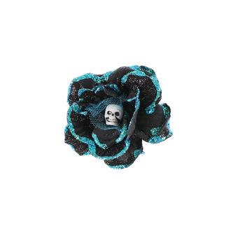 Fermacapelli Cranio - Nero / turquise