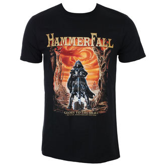 t-shirt metal uomo Hammerfall - Glory To The Brave – 20th Anniversary Edition - NAPALM RECORDS, NAPALM RECORDS, Hammerfall