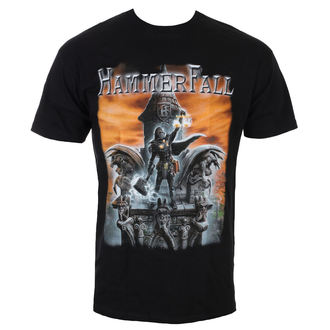 t-shirt metal uomo Hammerfall - Built To Last - NAPALM RECORDS, NAPALM RECORDS, Hammerfall