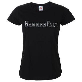 t-shirt metal donna Hammerfall - Logo - NAPALM RECORDS, NAPALM RECORDS, Hammerfall