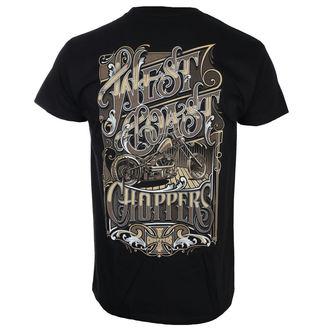 t-shirt uomo - LOCK UP - West Coast Choppers, West Coast Choppers
