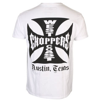 t-shirt uomo - OG CROSS ATX - West Coast Choppers, West Coast Choppers
