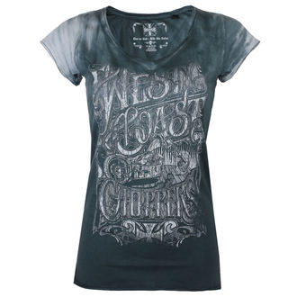 t-shirt donna - LOCK UP - West Coast Choppers, West Coast Choppers