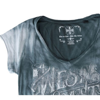 t-shirt donna - LOCK UP - West Coast Choppers
