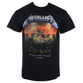 t-shirt metal uomo Metallica - METALLICA - AMPLIFIED