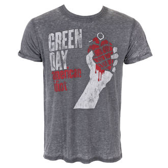 t-shirt metal uomo Green Day - American Idiot Vintage - ROCK OFF, ROCK OFF, Green Day