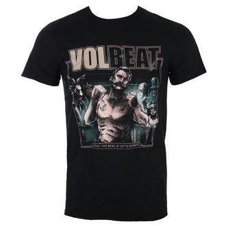 t-shirt metal uomo Volbeat - Seal The Deal Cover - ROCK OFF, ROCK OFF, Volbeat