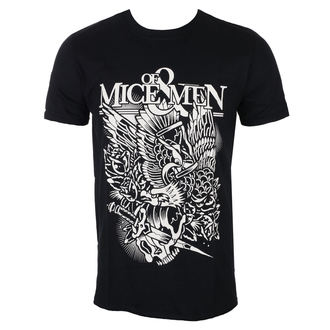 t-shirt metal uomo Of Mice & Men - Eagle - ROCK OFF, ROCK OFF, Of Mice & Men