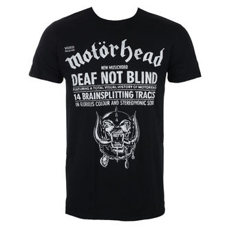 t-shirt metal uomo Motörhead - Deaf Not Blind - ROCK OFF, ROCK OFF, Motörhead