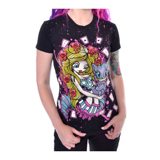t-shirt donna - ALICE CARDS - CUPCAKE CULT, CUPCAKE CULT